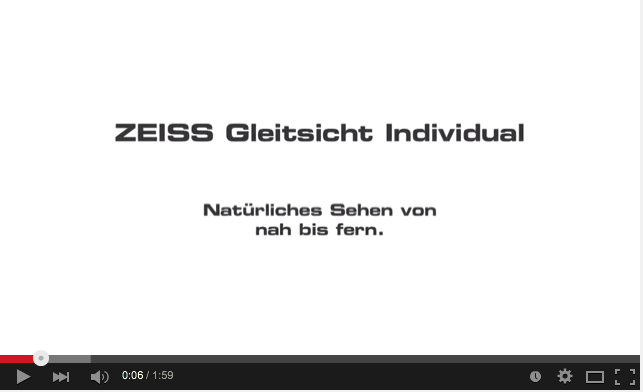 zeiss individual youtube